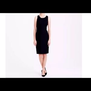 J Crew EMMALEIGH super 120s dress size 4 black